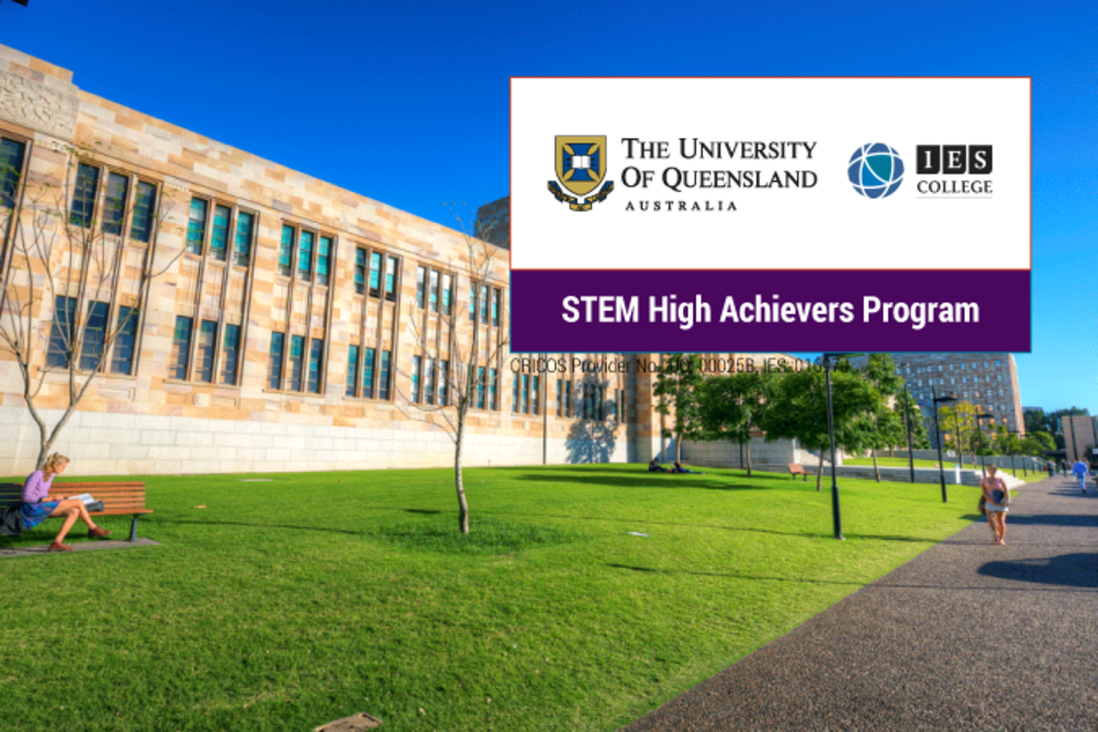 Uq foundation stem high achievers program