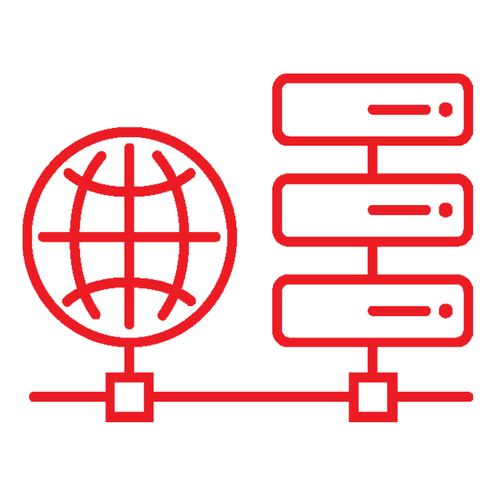 Primary computer network